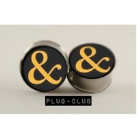 Ampersand of Mice and Men Plugs by Plug-Club