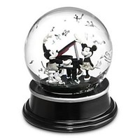 Mickey and Minnie Mouse ''1928'' Snow Globe | Disney Store