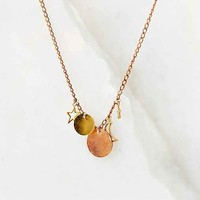 Bing Bang X UO Charm Necklace- Gold One