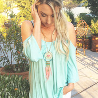 FLY FREE TOP IN MINT