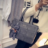 Winter Stylish Patchwork Shoulder Bags [6582855623]