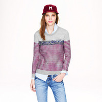 PRE-ORDER COLLECTION JEWELED JACQUARD SWEATER