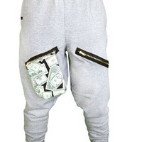 ChachiMomma Pants Grey Black Large