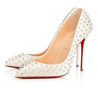 christian:louboutin Brand New Womens Pigalle Follies Heeled Sandals