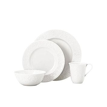 Opal Innocence Carved 4-Piece Place Setting by Lenox
