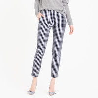 Martie pant in gingham