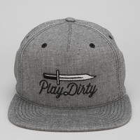 Undefeated Blade Chambray Snapback Hat