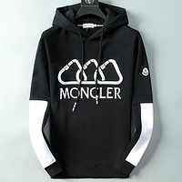 Boys & Men Moncler Casual Edgy Hoodie Top Sweater