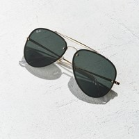 Ray-Ban Blaze Aviator Sunglasses | Urban Outfitters