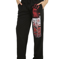 The Walking Dead Bloody Hand Guys Pajama Pants