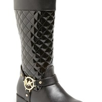 MICHAEL Michael Kors 'Emma' Quilted Boot (Toddler, Little Kid & Big Kid)