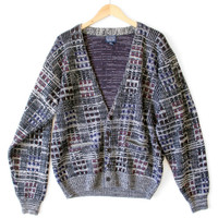 Vintage 80s Cosby Cardigan Ugly Sweater - The Ugly Sweater Shop
