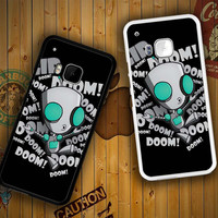 invader zim gir doom song Z0621 HTC One S X M7 M8 M9, Samsung Galaxy Note 2 3 4 S3 S4 S5 (Mini) S6 S6 Edge