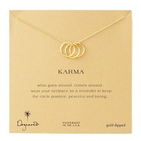 Three-Ring Karma Necklace - Dogeared
