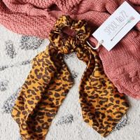 Wild Thing Scarf Scrunchie