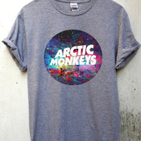 arctic monkeys shirt arctic monkeys tshirt arctic monkeys t shirt arctic monkeys nebula shirt size S-XXL