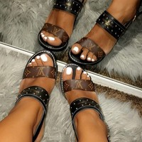 shosouvenir LV Fashion casual sandals