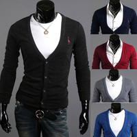 Men Fashion Knit Cardigan