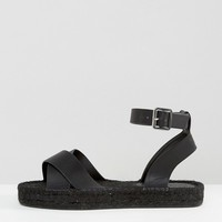ASOS JACKAL Wide Fit Espadrille Sandals at asos.com