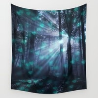 Wandering Souls Wall Tapestry by Lena Photo Art