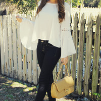 Told My Heart Top: White