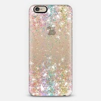 White Butterflies and Colorful Sparkles Burst iPhone 6 case by Organic Saturation | Casetify