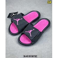 Bunchsun AIR Jordan Woman Men Fashion Casual Sandals Slipper Shoes 5#