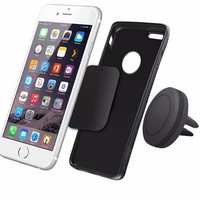 shunwei Universal Car Interior Magnetic Air Vent Mount Holder Stand for i-Phone 6 6S Plus Smartphones magnetic mount holder