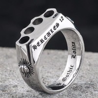 Knuckle Duster Gothic Ring