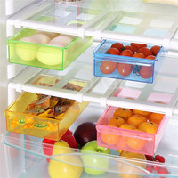 High Quality Slide Fridge Creative Multi-purpose Organization Storage Rack Shelf Holder