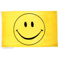 Smile Face Flag on Sale for $9.99 at HippieShop.com