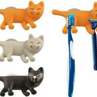 Amazon.com: Cat Toothbrush Holder in colored box: Home & Kitchen