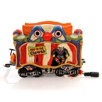 Department 56 Accessory CREEPY CLOWN CAR Ceramic Lit Accessory Halloween 4049218