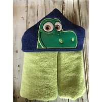 The Good Dinosaur Hooded Towel