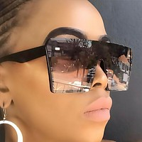 Trending 2020 Oversized Square Sunglasses For Women Driving Outdoor Sun Glasses