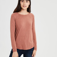 AE Soft & Sexy Long Sleeve T-Shirt, Rust