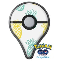 Gold and Mint Pineapple Pokémon GO Plus Vinyl Protective Decal Skin Kit
