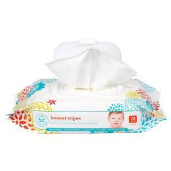 Honest Company Face-Hand-& Baby Wipes - 72 Count