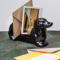 Quirky Dachshund, Sealed, Delivered Letter Organizer by ModCloth
