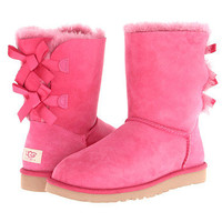 UGG Bailey Bow Dark Dusty Rose - Zappos.com Free Shipping BOTH Ways