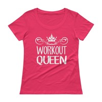 Workout Queen Womens Exercise T-shirt