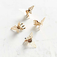 Metal Butterfly Clip Set - Urban Outfitters