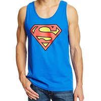 Men's Superman Classic Logo Tank Top