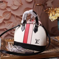 LV Louis Vuitton WOMEN'S EPI LEATHER ALMA HANDBAG SHOULDER BAG