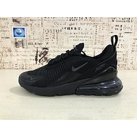 Nike Air Max 270 Triple Black | AH8050-005 Sport Running Shoes