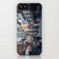 York Minster Busy Town iPhone & iPod Case by Karl Wilson Photography