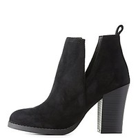 CHUNKY CUT-OUT BOOTIES