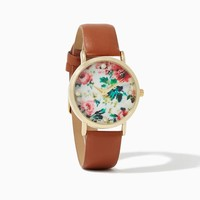 Vintage Blooms Watch   Fashion Jewelry   charming charlie