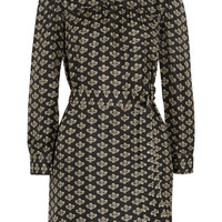 Isabel Marant - Ugi printed silk-twill dress