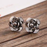 Floral Printed Jewelry Accessories Earrings Stud Jewelry Accessories Earrings _ 8515